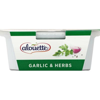 Alouette Garlic & Herbs Soft Spreadable Cheese