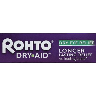 Rohto Eye Drops, Lubricant, Dry Aid