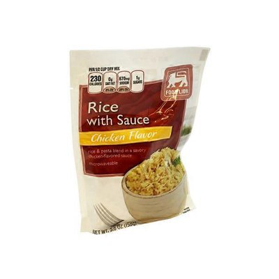 Food Lion Rice with Sauce Chicken Flavor