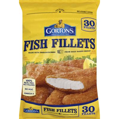 Gorton's Fish Fillets, Breaded
