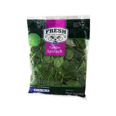 Kroger Fresh Selections Tender Spinach