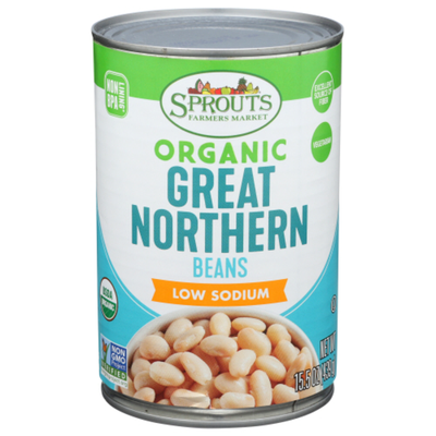 Sprouts Great Northern Beans