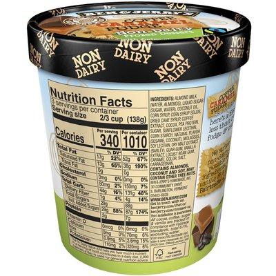 Ben & Jerry's Non-dairy Frozen Dessert Coffee Caramel Fudge