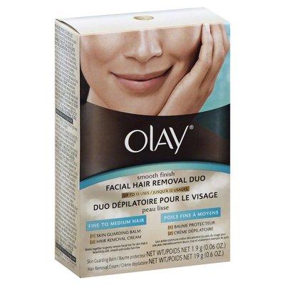Olay Smooth Finish 2 Pcs Facial Hair Removal
