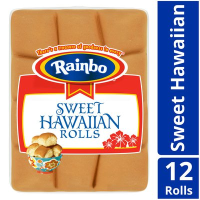 Rainbo Sweet Hawaiian Rolls