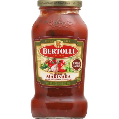 Bertolli Sauce, Traditional Marinara