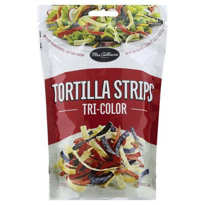 Mrs. Cubbison's Tortilla Strips, Tri-Color