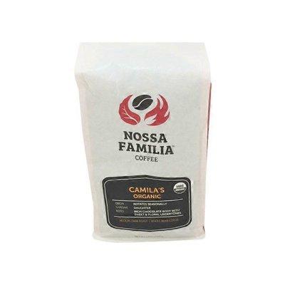 Nossa Familia Organic Camilia's Whole Bean Coffee