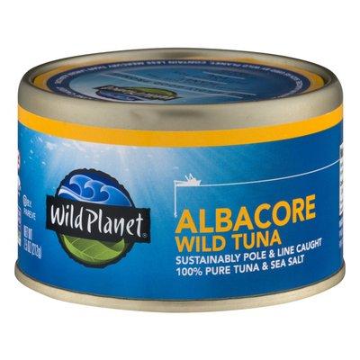 Wild Planet Albacore Wild Tuna 100% Tuna & Sea Salt