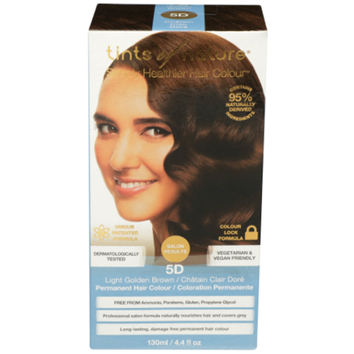 Tints Of Nature Conditioning Permanent Hair Color - Light Golden Brown 5D