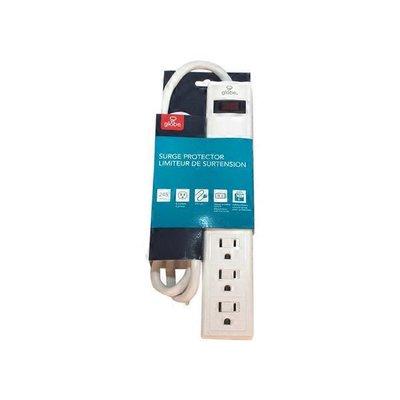 Globe Electric 6 Outlet Swivel Surge Powerbar
