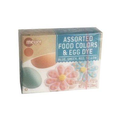 Meijer Assorted Food Colors