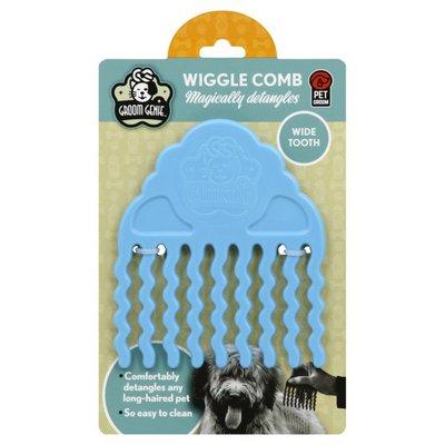 Groom Genie Wiggle Comb, Wide Tooth