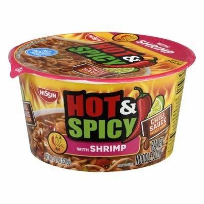 Nissin Soup, Ramen Noodle, Hot & Spicy, with Shrimp