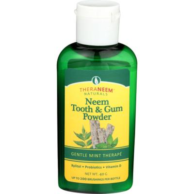 TheraNeem Neem Tooth & Gum Powder Mint