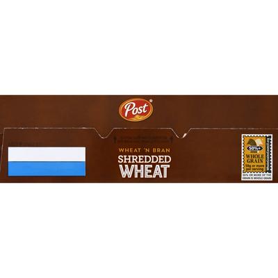 Post Shredded Wheat Wheat'n Bran
