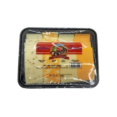 New Bridge Cheese, Party Slices, Assorted