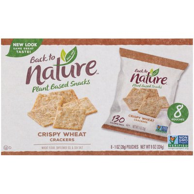 Back to Nature Crispy Wheat Crackers