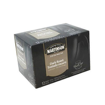 Martinson Premium Coffee Dark Roast Single Serve Cups