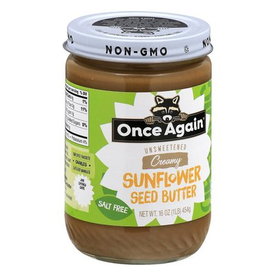 Once Again Sunflower Seed Butter, Creamy, Unsweetened