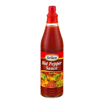Grace & I Hot Pepper Sauce, Very Hot