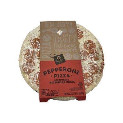 Signature CAFE Pepperoni & Mozzarella Cheese Pizza