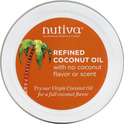 Nutiva Coconut Oil, Refined