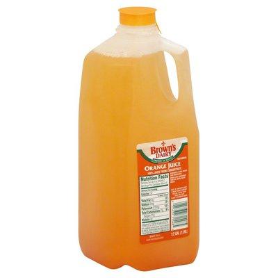 Browns Dairy Orange Juice