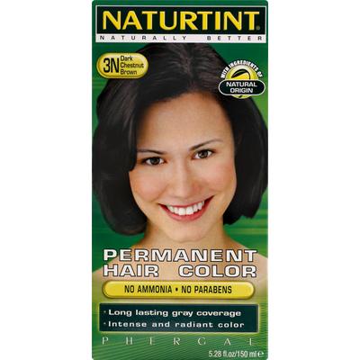 Naturtint Hair Color, Permanent, Dark Chestnut Brown 3N