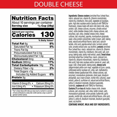 Cheez-It Snack Mix, Lunch Snacks, Double Cheese
