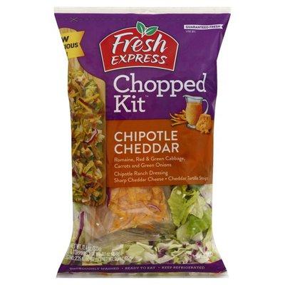 Fresh Express Salad Kit, Chipotle Cheddar, Chopped
