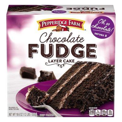 Pepperidge Farm® Frozen Chocolate Fudge Layer Cake