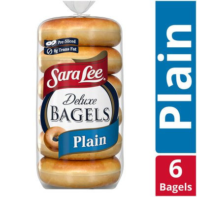 Sara Lee Plain Deluxe Bagel