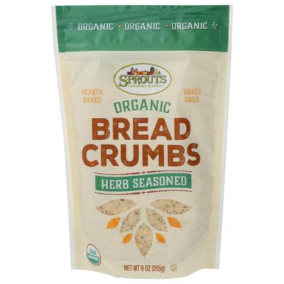 Sprouts Organic Seasoned Herb Bread Crumbs