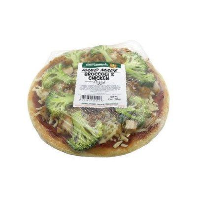 Broccoli & Chicken Pizza