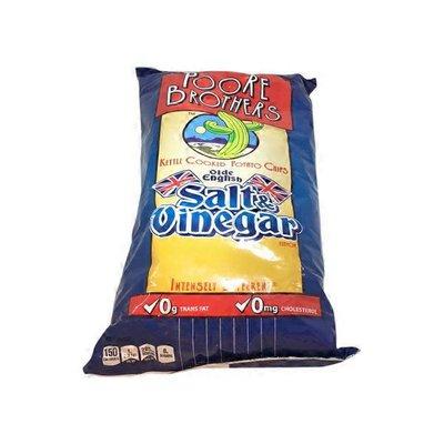 Poore Brothers Kettle Cooked Potato Chips, Salt & Vinegar