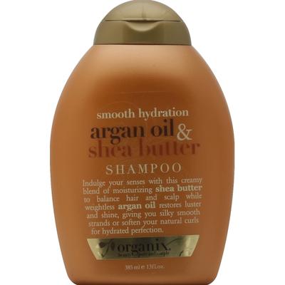 OGX Shampoo, Argan Oil & Shea Butter, Smooth Hydration