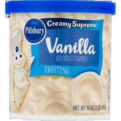 Pillsbury Frosting, Vanilla