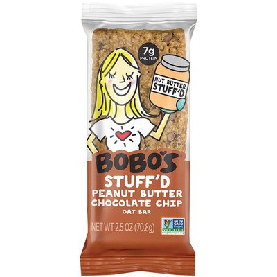 Bobo's Stuff'd Peanut Butter Chocolate Chip Oat Bar