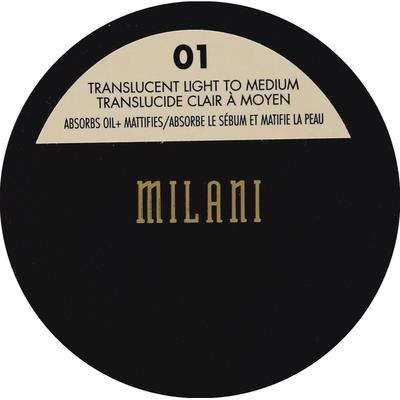 Milani Setting Powder, Translucent Light to Medium 01