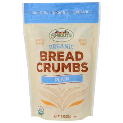 Sprouts Organic Plain Bread Crumbs
