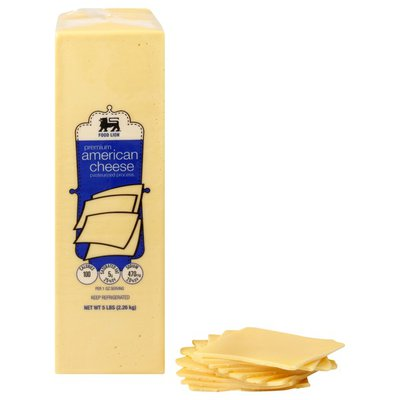 Food Lion Fresh Deli Yellow American Cheese