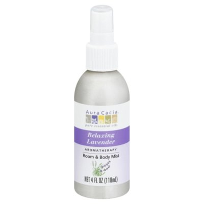 Aura Cacia Room & Body Mist, Aromatherapy, Relaxing Lavender