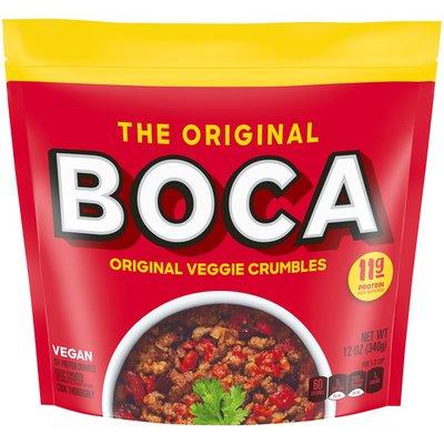 Boca Original Veggie Crumble