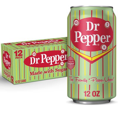 Dr Pepper Made with Sugar