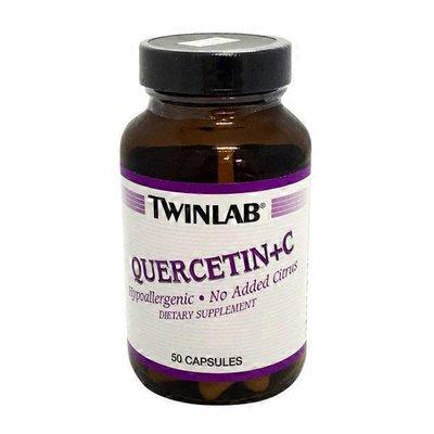 Twinlab Quercetin + C Dietary Supplement Capsules