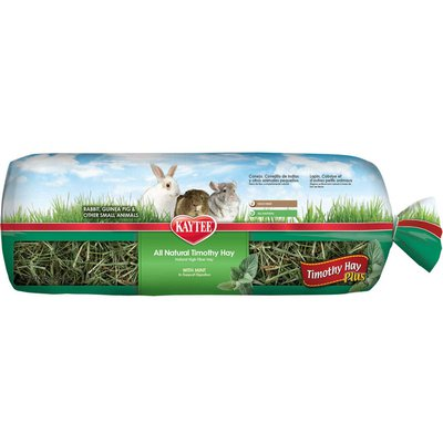Kaytee Timothy Hay Plus Mint For Rabbits and Small Animals