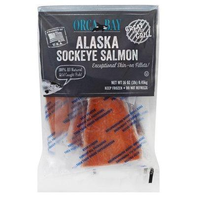 Orca Bay Seafoods Salmon, Alaska Sockeye