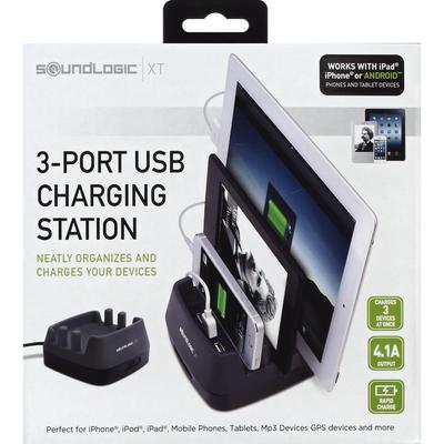 SoundLogic Charging Station, 3-Port USB