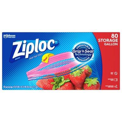 Ziploc Storage Bags Gallon
